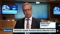 Norges Bank Raises Benchmark Rate, Still Sees Oil as Growth Engine