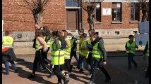 Six cents élèves ont marché pour le climat à Saint-Georges-sur-Meuse ce 21 mars 2019