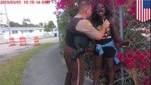 Bodycam video shows why Miami Dade po po was suspended