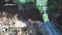Asmaalti Waterfall - Aglayan Kaya Waterfall [Denizli - Turkey]
