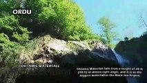 Ohtamis Waterfall, Ciseli Waterfall and Uzundere Waterfall [Ordu - Turkey]