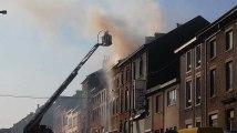 Lodelinsart-Chaussée de Châtelet-Incendie