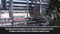 (Subtitled) Inauguration of the new Court Simonne-Mathieu at Roland Garros
