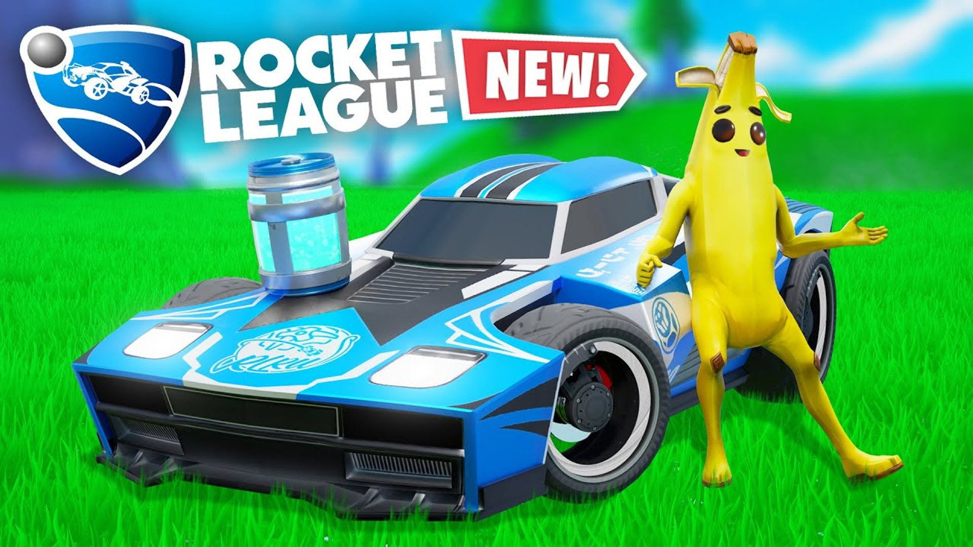 NEW PLAY ROCKET LEAGUE IN FORTNITE! - Fortnite Funny Fails and WTF Moments!