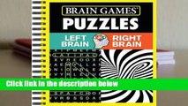 Full E-book  Brain Games - Puzzles: Left Brain Right Brain  For Kindle