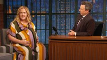 Amy Schumer Shows Off Her Baby Bump