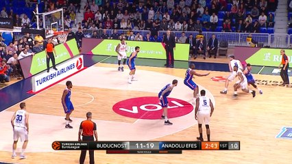 EuroLeague 2018-19 Highlights Regular Season Round 28 video:  Buducnost 84-91 Efes