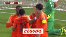 Tous les buts de Pays-Bas - Biélorussie - Foot - Euro (Q)