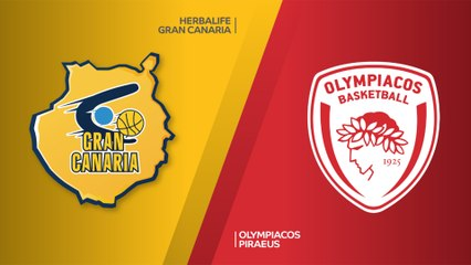 EuroLeague 2018-19 Highlights Regular Season Round 28 video: Gran Canaria 90-67 Olympiacos