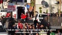 A Mossoul, naufrage sur le Tigre lors du Nouvel an