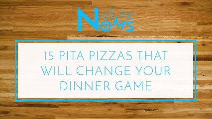 15 Pita Pizzas That Will Change Your Dinner Game