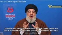 Nasrallah: US Sanctions against Hezbollah are Last Resort, Resistance Axis Triumphs (2/2)