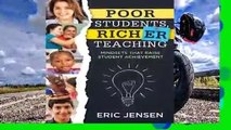 Popular Poor Students, Richer Teaching: Mindsets That Raise Student Achievement (the Science