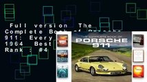 Full version  The Complete Book of Porsche 911: Every Model Since 1964  Best Sellers Rank : #4