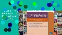 Full version  10 Next, Actual Official LSAT Preptests: (preptests 29-38)  For Kindle