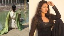 Nivetha Pethuraj In Trouble For Illegal Photos | Filmibeat Telugu