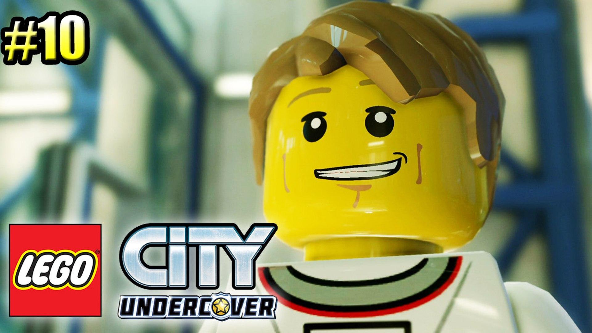 LEGO City Undercover #10 — Учимся Водить Луноход {PS4} прохождение часть 10