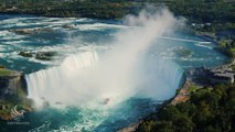 Best of Niagara Falls - Drone & Time-lapse Shots - American Falls, Horseshoe, Bridal Veil Falls