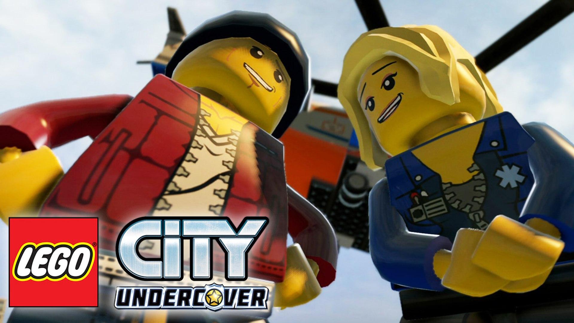 LEGO City Undercover прохождение часть 15 — Принцесса на Вершине Башни {PS4}