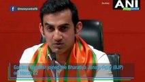 Former cricketer Gautam Gambhir joins BJP, likely to contest Lok Sabha polls