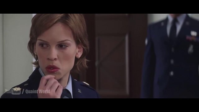 When Hilary Swank Swallowed the Chewing Gum, a very funny situation Hilary Swank faced, watch funny scene from the movie 'The Core' (2003).