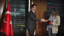 İstanbul İmamoğlu İş Adamlarıyla Bir Araya Geldi Hahambaşı Haleva'yı Ziyaret Etti 1