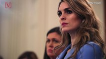 Rep. Says Hope Hicks Will 'Have to Tell Us Who She Lied For' in The White House