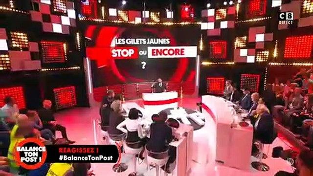 Gros clash entre Cyril Hanouna et un avocat des gilets jaunes _ Tu es un abruti