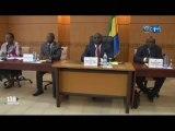 RTG/Audition du ministre de la santé et de la protection sociale face aux sénateurs pour la présentation du projet de loi portant organisation et fonctionnement du régime de sécurité social au Gabon