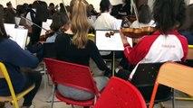Interview des tuteurs musiciens de l'Orchestre Philharmonique de Radio France :