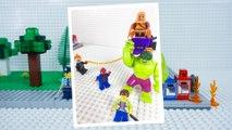 LEGO Spiderman STOP MOTION W/ LEGO Spiderman And Hulk Save City! | LEGO Spiderman | By LEGO Worlds