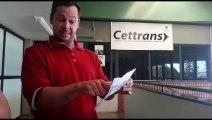 Homem reclama de multa aplicada por agente da Cettrans
