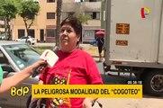 """La peligrosa modalidad del """"Cogoteo"""" continúa ganando víctimas en las calles de Lima"""
