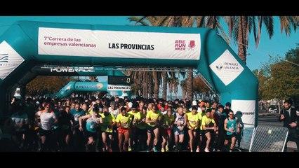 Reportaje participación runnkers Supermercados ALDI VIIª Carrera Empresas València