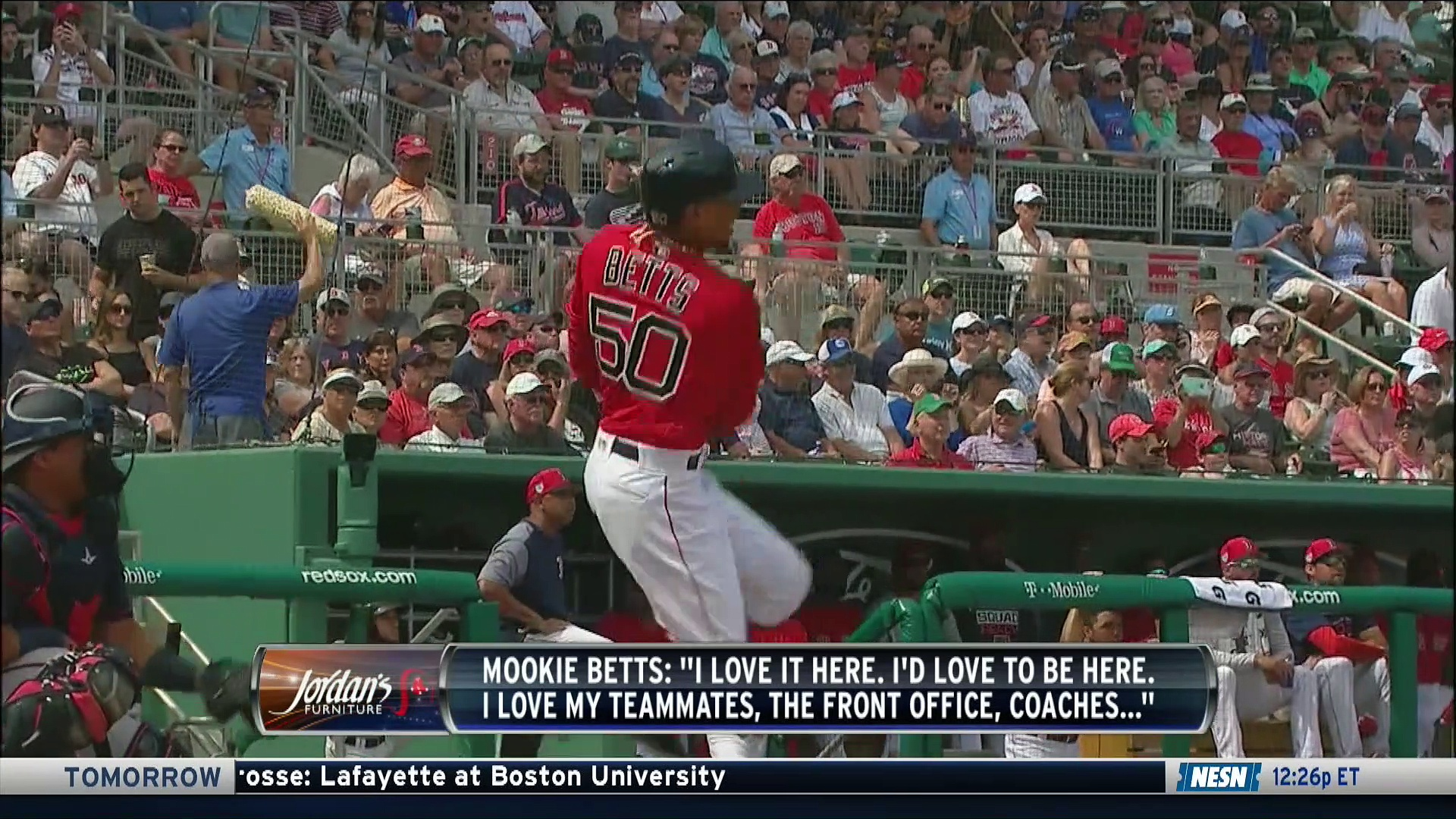 Mookie Betts Open To Re-Signing With Red Sox Before Free Agency