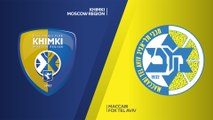 Khimki Moscow region - Maccabi FOX Tel Aviv Highlights | Turkish Airlines EuroLeague RS Round 28