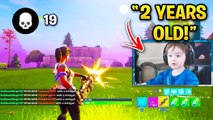YOUNGEST Fortnite Streamers! (Mongraal, Sceptic, Slappie, Kids) | FORTNITE Moments
