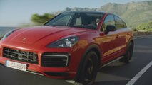 Porsche Cayenne Coupé Driving Video