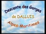 Descente des Gorges de DALLUIS (Alpes-Maritimes)