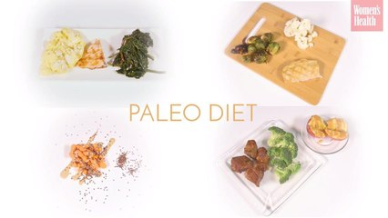 1,200 Calories on 3 Different Diets