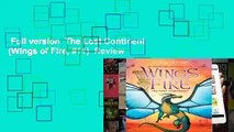 Full version  The Lost Continent  (Wings of Fire, #11)  Review