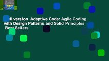 Full version  Adaptive Code: Agile Coding with Design Patterns and Solid Principles  Best Sellers