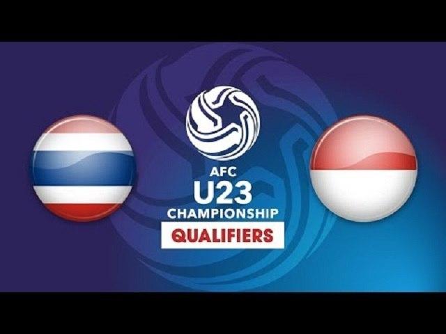 FULL | U23 THÁI LAN vs U23 INDONESIA | VFF Channel