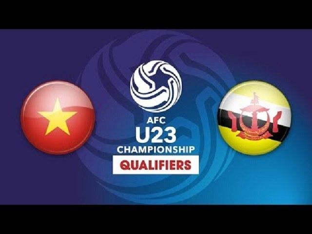 FULL | U23 VIỆT NAM vs U23 BRUNEI | VFF Channel
