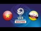 FULL   U23 VIỆT NAM vs U23 BRUNEI   VFF Channel