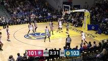 Angel Delgado Posts 15 points & 17 rebounds vs. Santa Cruz Warriors