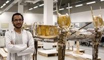 Le nouveau Grand musée égyptien de Gizeh et ses chercheurs