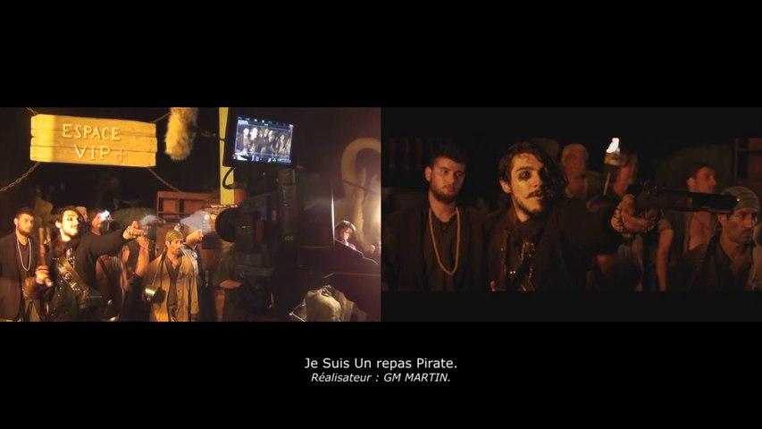 Alexis DIENNA – Escrime Cascade stunts behind the scenes.