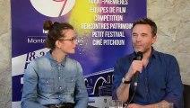 """Interview de Mélanie Auffret et Guillaume De Tonquédec pour le film : """"Roxane""""Roxane"""