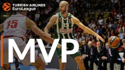 Round 28 MVP: Nick Calathes, Panathinaikos OPAP Athens